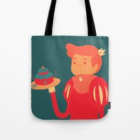 baking Tote Bags featuring Baking by nico_lle