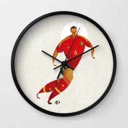 Iniesta Wall Clock