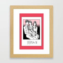 shaw taylor camila friends award show celebrities photo picture Framed Art Print