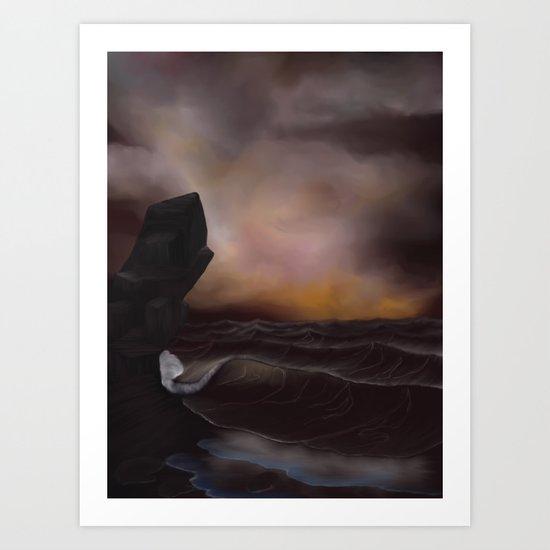 A Stormy Ocean by alishadawn