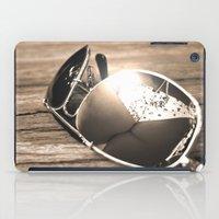 sunglasses iPad Cases featuring Sunglasses by Cs025
