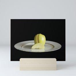 Apple Slice Mini Art Print