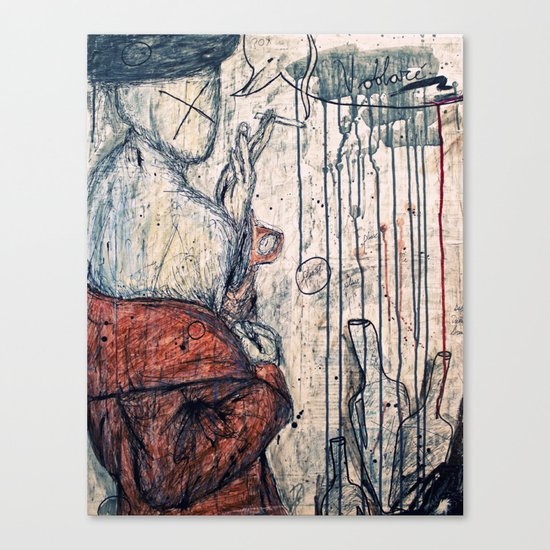 Voolare Canvas Print