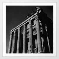 Roman Forum 2 Art Print