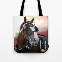 BUDWEISER Clydesdale Tote Bag