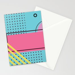 memphis 3/3 Stationery Cards