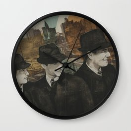 The Closers Wall Clock