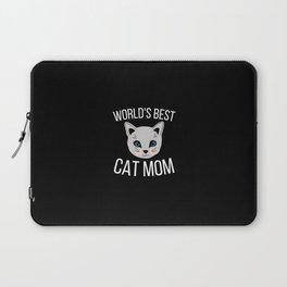 Worlds Best Cat Mom Laptop Sleeve