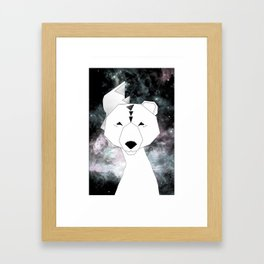 Galaxbeer Framed Art Print