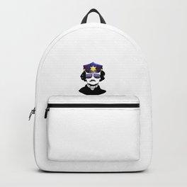 Poe Grammar Police English Teacher Gift design Backpack
