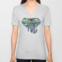Éléphant royal Unisex V-Neck