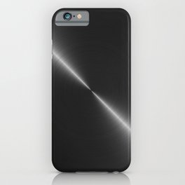 Metallic Bright Polished Steel iPhone Case