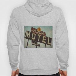 La Casa Del Sol Vintage Motel Sign Hoody