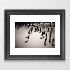 Holiday on Ice Framed Art Print