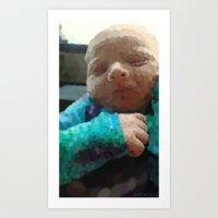 Baby Boy Art Print