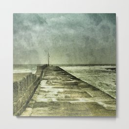 Arriving and Departing, all at the Same Time Metal Print