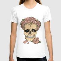 eugenia loli T-shirts featuring Memento mori by Eugenia Hauss
