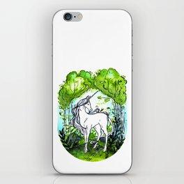 The last unicorn iPhone Skin