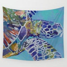 Honu Kauai Sea Turtle Wall Tapestry