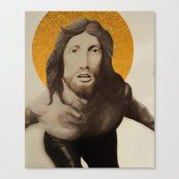 jesus Canvas Prints featuring Jesus by Ethan Hellexon
