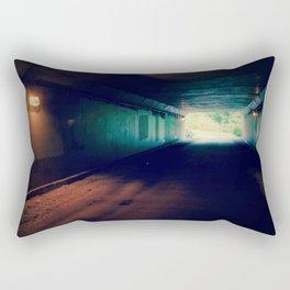 Tunnel - Retro Rectangular Pillow