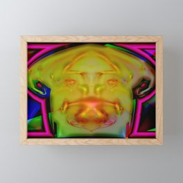 Fate's face ... Framed Mini Art Print