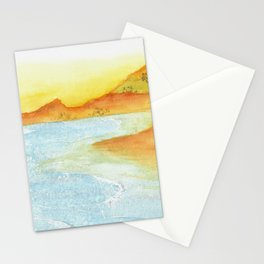 Hillside Beach Stationery Cards