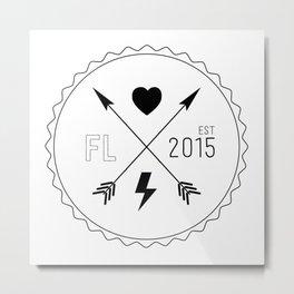 Florida Life Metal Print