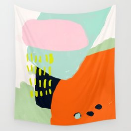 pink cloud Wall Tapestry