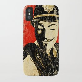 Anonymous Police Officer iPhone Case