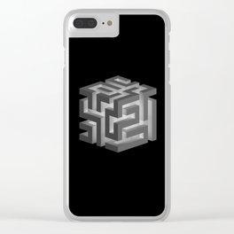 BLACK MAGIC Clear iPhone Case