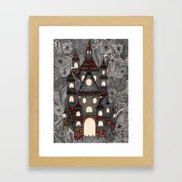 Cosmic Castle  Framed Art Print