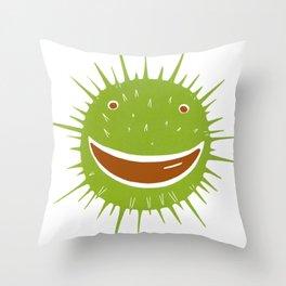 Conker Throw Pillow