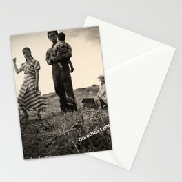 Retro Placard dorothea lange musee de lelysee Stationery Cards