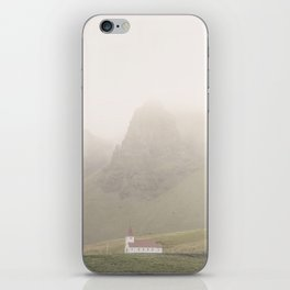 Vik Church iPhone Skin