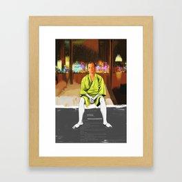 Lost in translation | Bill Murray | Painting Framed Art Print