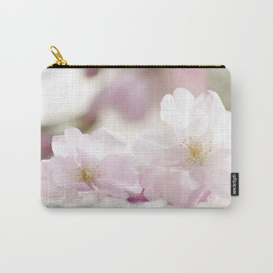 Delicate and fliligrane flowering of the almond tree Carry-All Pouch