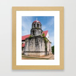 San Isidro Labrador Church, Siquijor Island, Philippines Framed Art Print