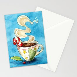 Christmas cocoa Stationery Cards