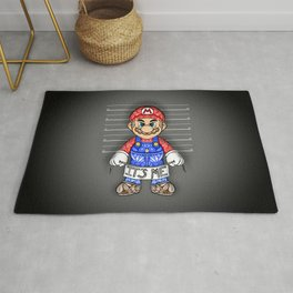 It's ME, Evil Mario !  Rug