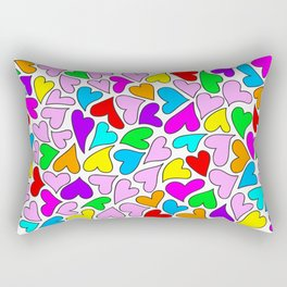 Cuori Rectangular Pillow