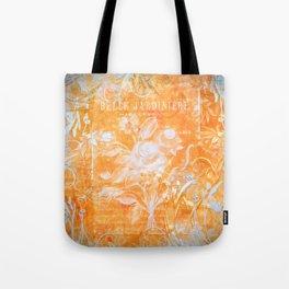French Twist Orange Tote Bag