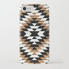Urban Tribal Pattern No.13 - Aztec - Concrete and Wood iPhone Case