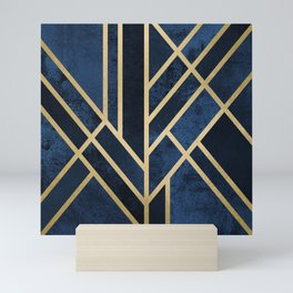 Art Deco Midnight Mini Art Print