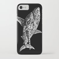 bioworkz iPhone & iPod Cases featuring Great White by BIOWORKZ