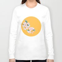 sakura Long Sleeve T-shirts featuring Sakura by Priscilla Moore