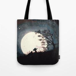 Serenading The Moon Tote Bag