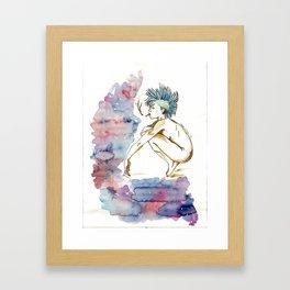 Punky Framed Art Print