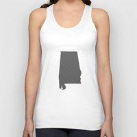 alabama Tank Tops featuring Alabama Line by Beastie Toyz