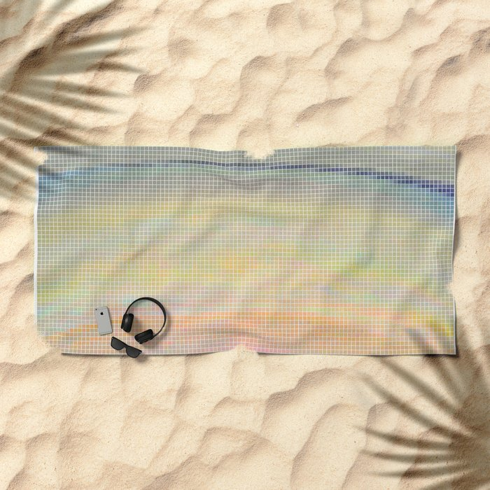 Saturn Beach Towel